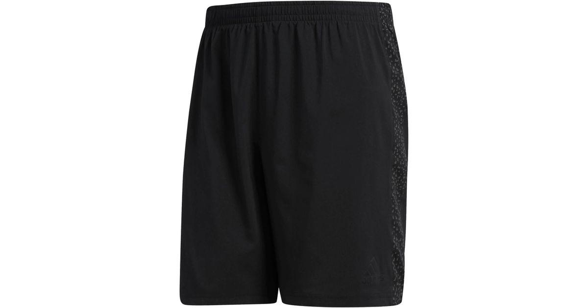 intermitente Pocos Brote  adidas Synthetic Supernova 7 Inch Running Shorts in Black for Men - Lyst