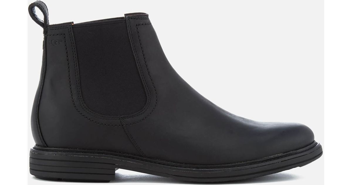 8385787fe4f Ugg Baldvin Chelsea Boot, Black, 9.5 Medium Us for men