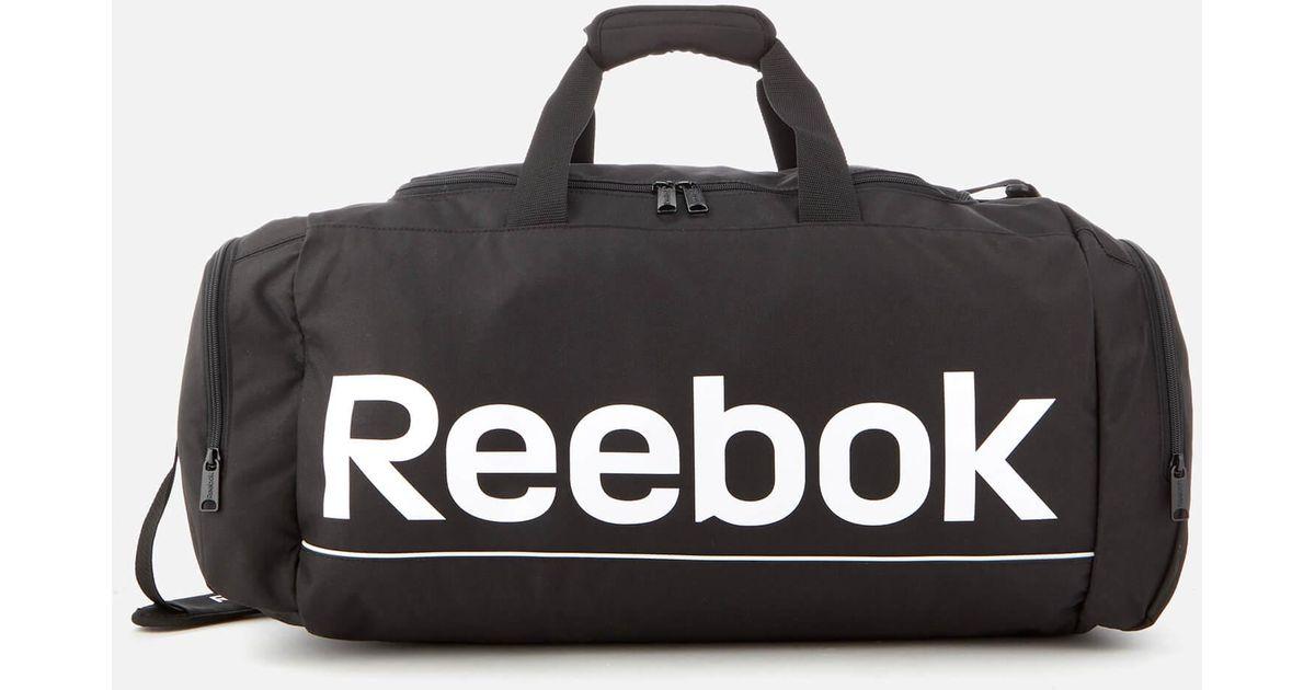 efb22a8fce712 Reebok Black Sport Roy Grip Bag for men