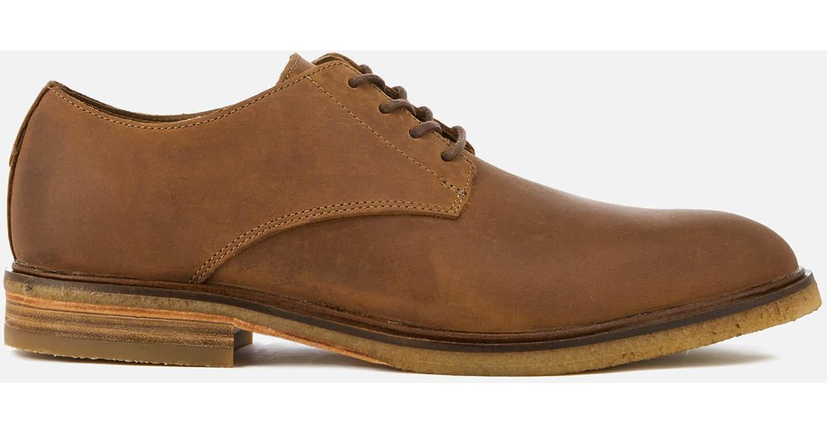 3fea874c1ff7 Lyst - Clarks Clarkdale Moon Leather Derby Shoes in Brown for Men