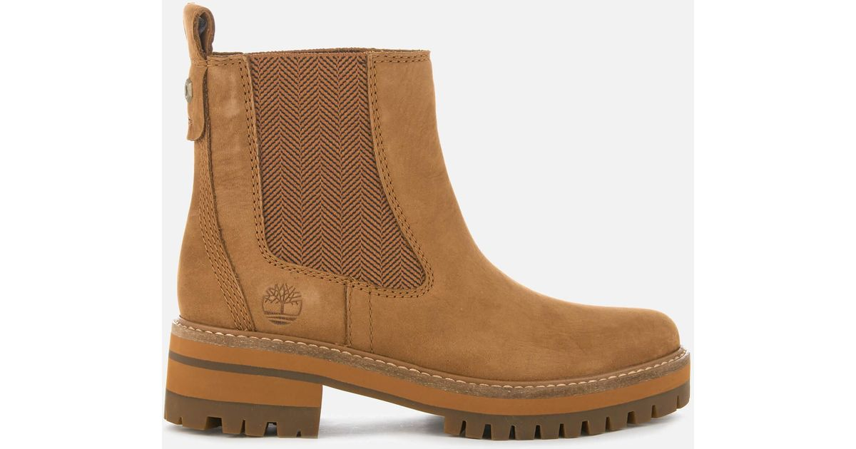 f0ddb823b20 Timberland Brown Courmayeur Valley Chelsea Boots