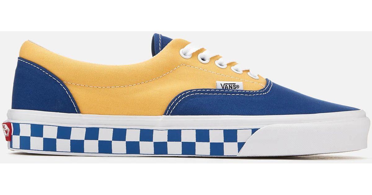 d1a630825c Vans Era Bmx Checkerboard Trainers in Blue for Men - Lyst