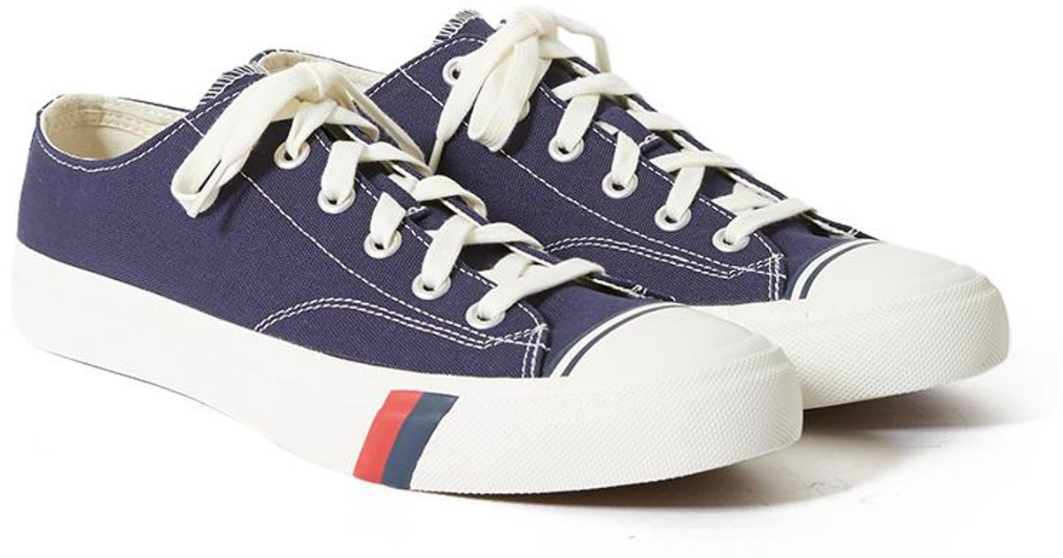 f86a973a20bcf Lyst - Pro Keds Royal Lo Classic Canvas Navy in Blue for Men