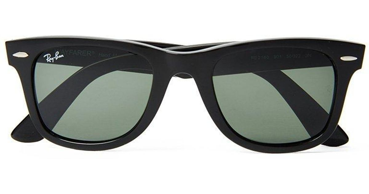 47ec65f3f24e9 Lyst - Ray-Ban Ray Ban Wayfarer Sunglasses Large Rb2140 901 Black in Black  for Men