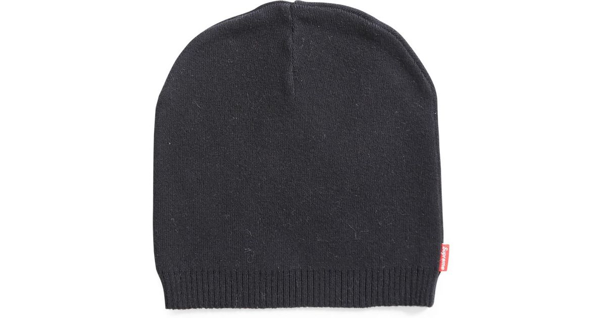 Lyst - Supreme Thin Skull Beanie Black (old Style) in Black for Men 7fee4a3e787