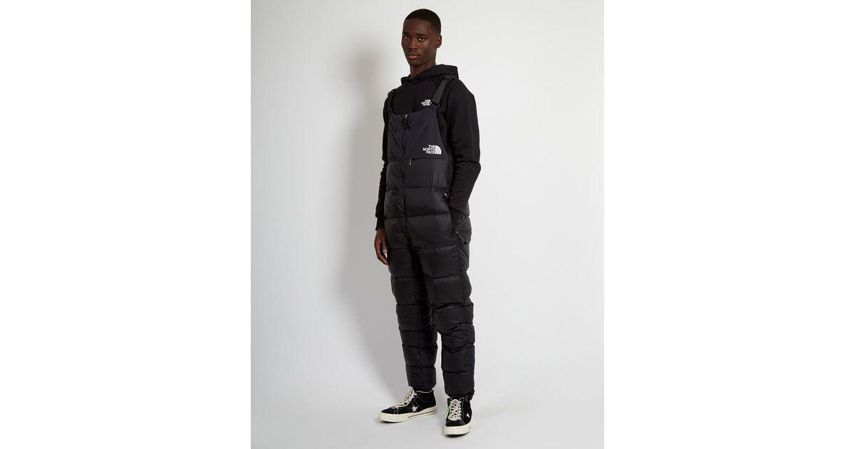 ea9d984787 ... Lyst - The North Face Nuptse Bib Black in Black for Men hot sale online  0aa4a ...
