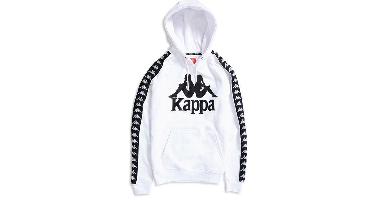 e837e4182229 Lyst - Kappa Hurtado Hoodie White   Black in White for Men