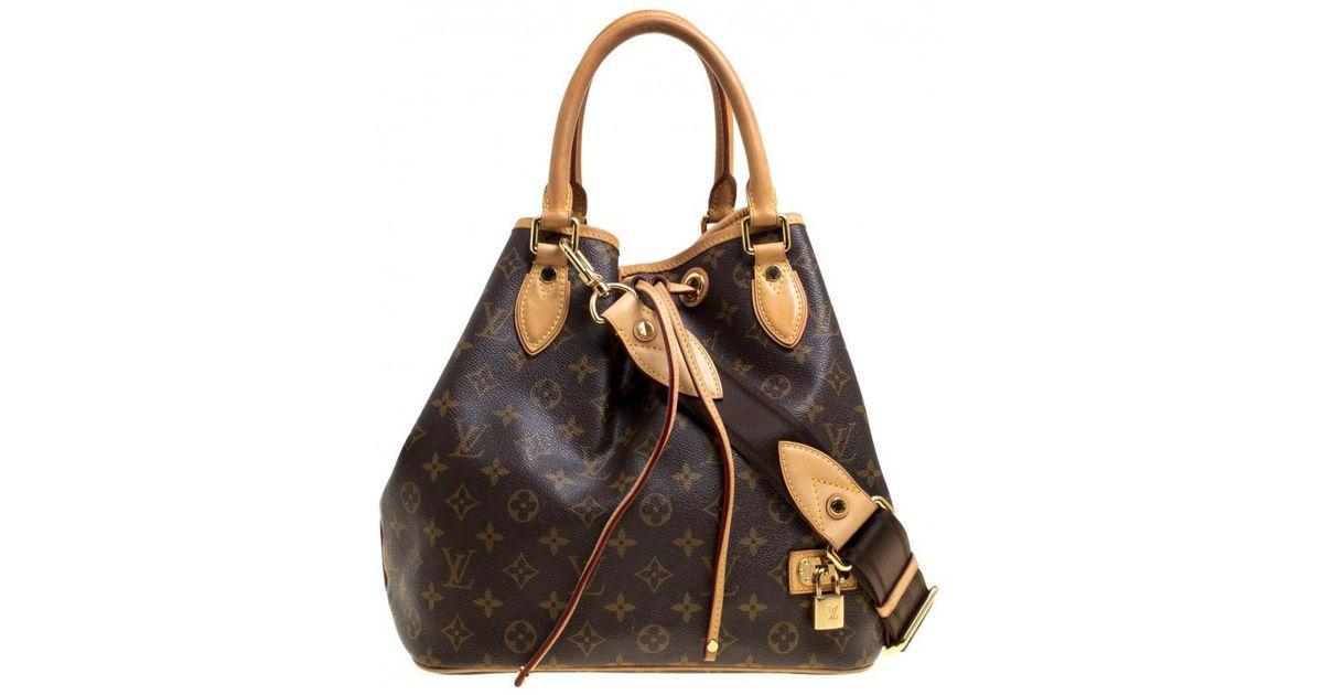 53fa11c13f6c Louis Vuitton Monogram Canvas Neo Bucket Bag in Brown - Lyst