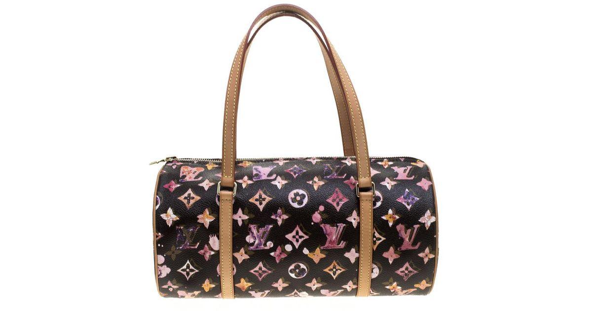 51966ad80f29 Lyst - Louis Vuitton Monogram Canvas Watercolor Richard Prince Papillon 30  Bag in Brown