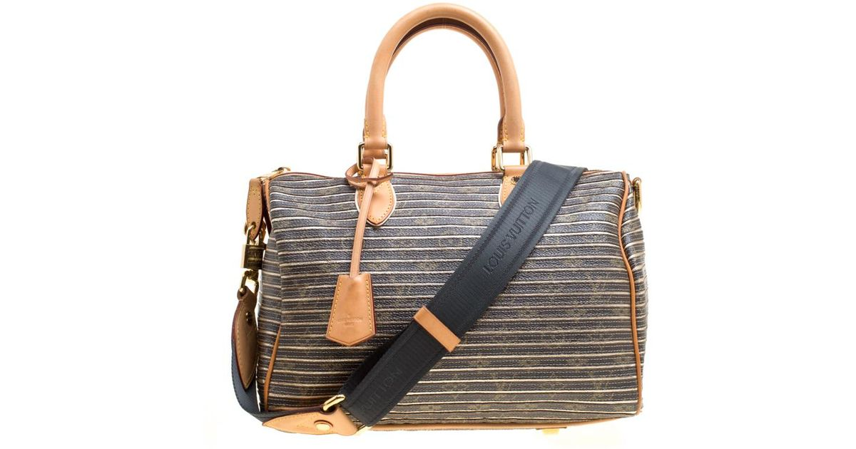 caabae7531f7 Lyst - Louis Vuitton Argent Monogram Canvas And Leather Limited Edition Eden  Speedy 30 Bag in Brown