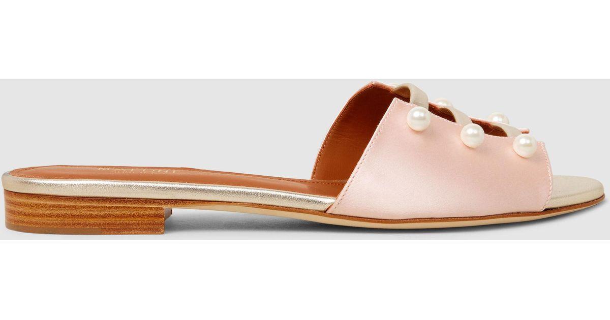 Zelda Embellished Satin Sandals Malone Souliers LQmEcCH