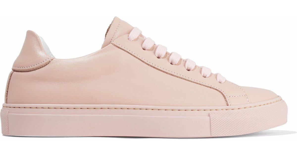 Iris \u0026 Ink Raye Leather Sneakers Pastel