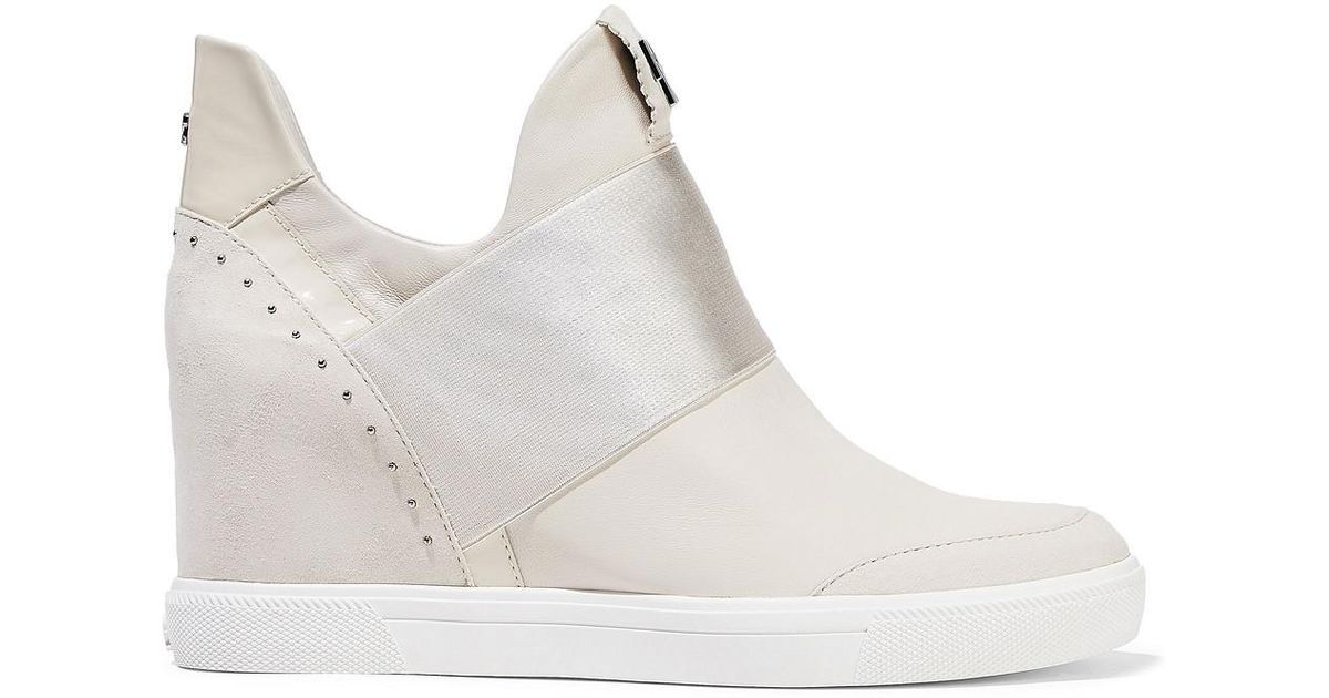 Donna Karan Cailin Suede, Patent And