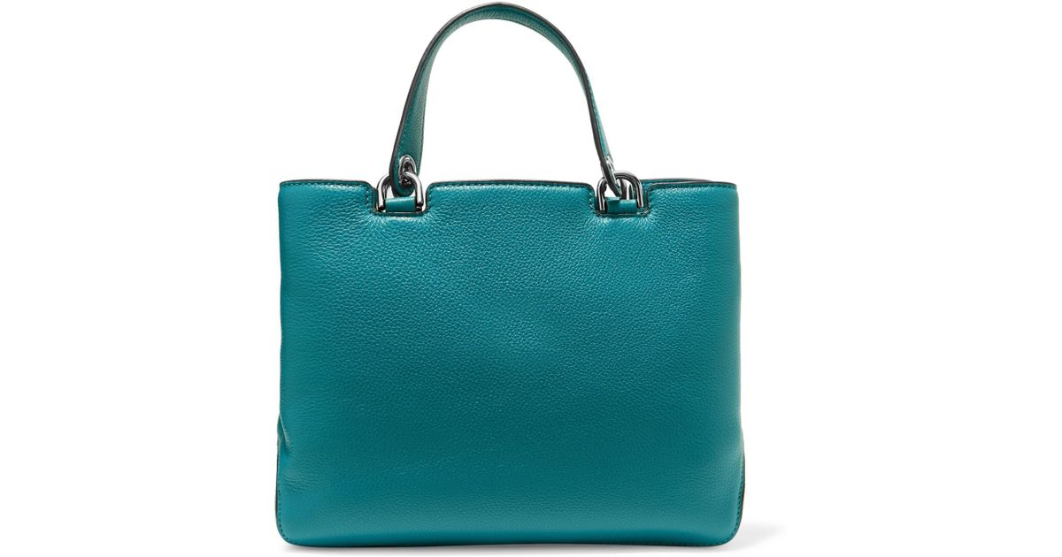 484bce3a0f44 MICHAEL Michael Kors Leather Tote Royal Blue in Blue - Lyst