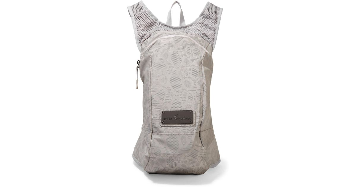 10025af0f0e7 Lyst - adidas By Stella McCartney Shell And Mesh Backpack