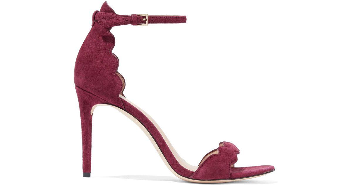 scalloped open toe sandals - Metallic Rachel Zoe LLU02E