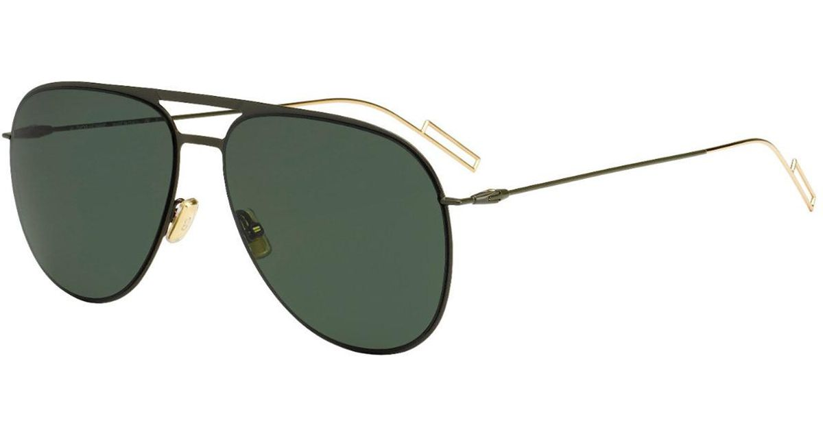 ba31afa77235 Dior Homme Black And Gold Aviator Frames With Black Lenses Sunglasses 0205s  in Black for Men - Lyst