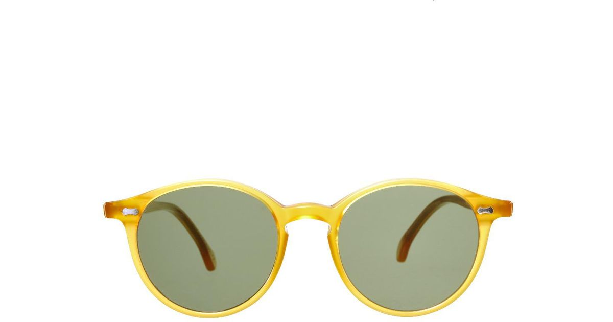 8ad253ab120 Lyst - The Bespoke Dudes Eyewear Cran Honey   Bottle Green Lenses Sunglasses  for Men
