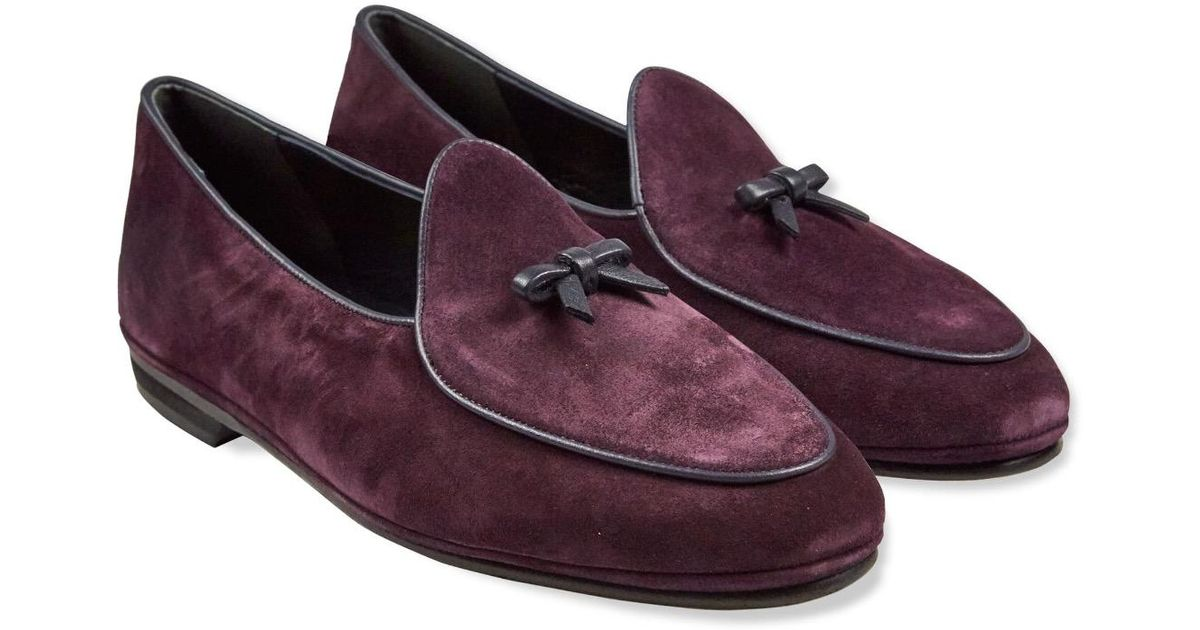 Reliable Cheap Price Big Discount For Sale Wine Marphy Suede Loafers Rubinacci Pick A Best Cheap Online Reliable For Sale i9AQI5r