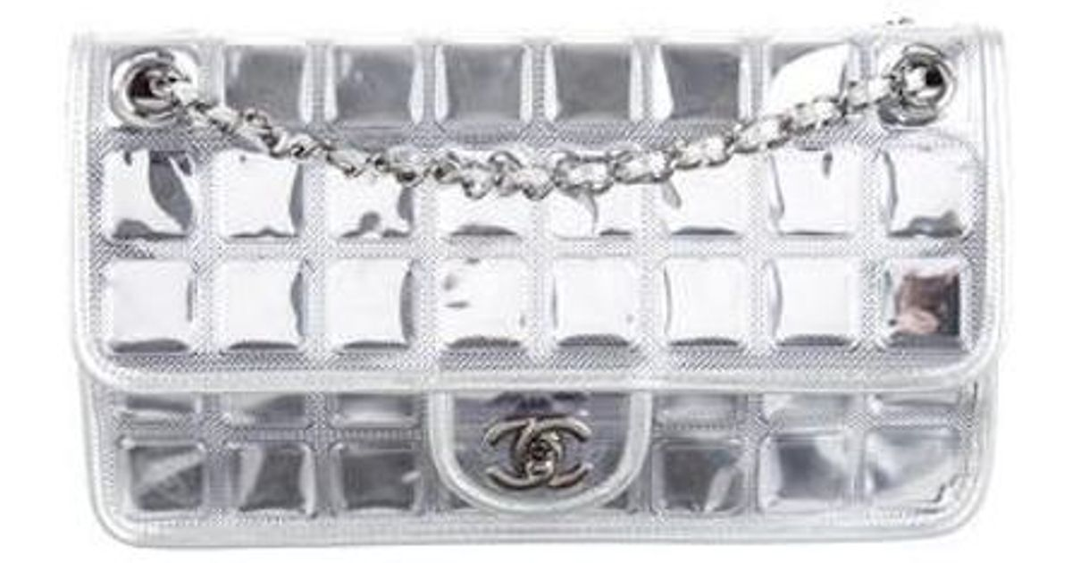 0a5767efd20c Lyst - Chanel Ice Cube Flap Bag in Metallic
