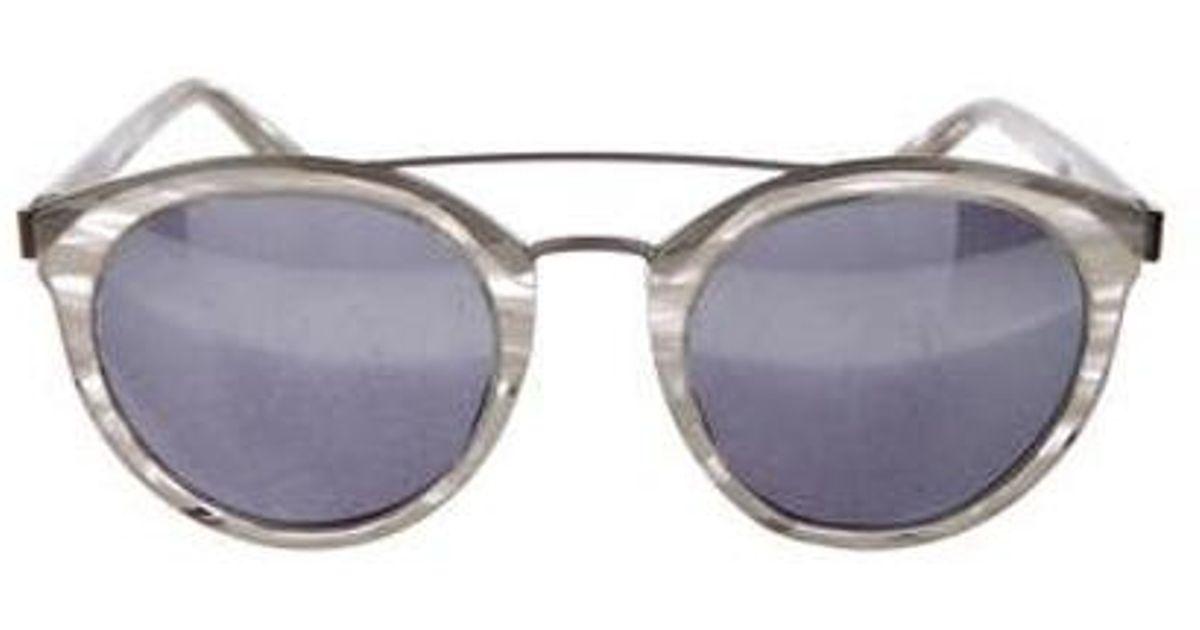 Lyst - Barton Perreira 2018 Dalziel Sunglasses Silver in Metallic