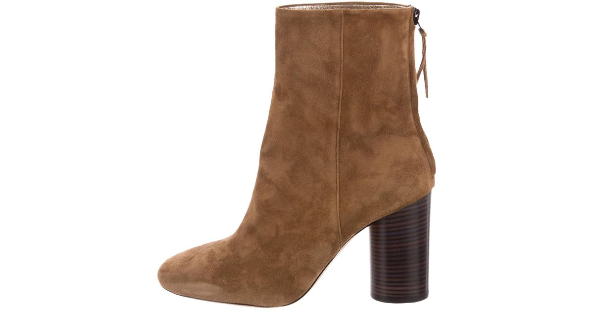 finishline for sale high quality sale online Isabel Marant Garett Round-Toe Ankle Boots sale outlet locations sale pictures cheap outlet locations BrBAbac9O3