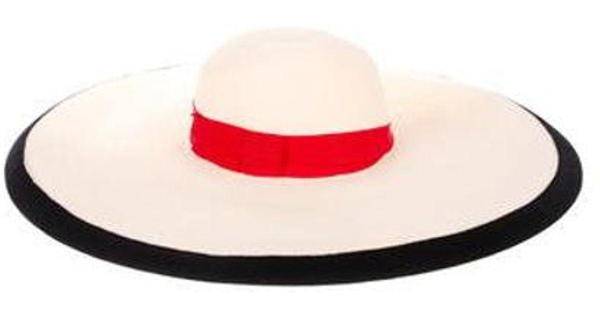 6ceebf9d1f1 Lyst - Eugenia Kim Woven Wide-brim Hat Multicolor