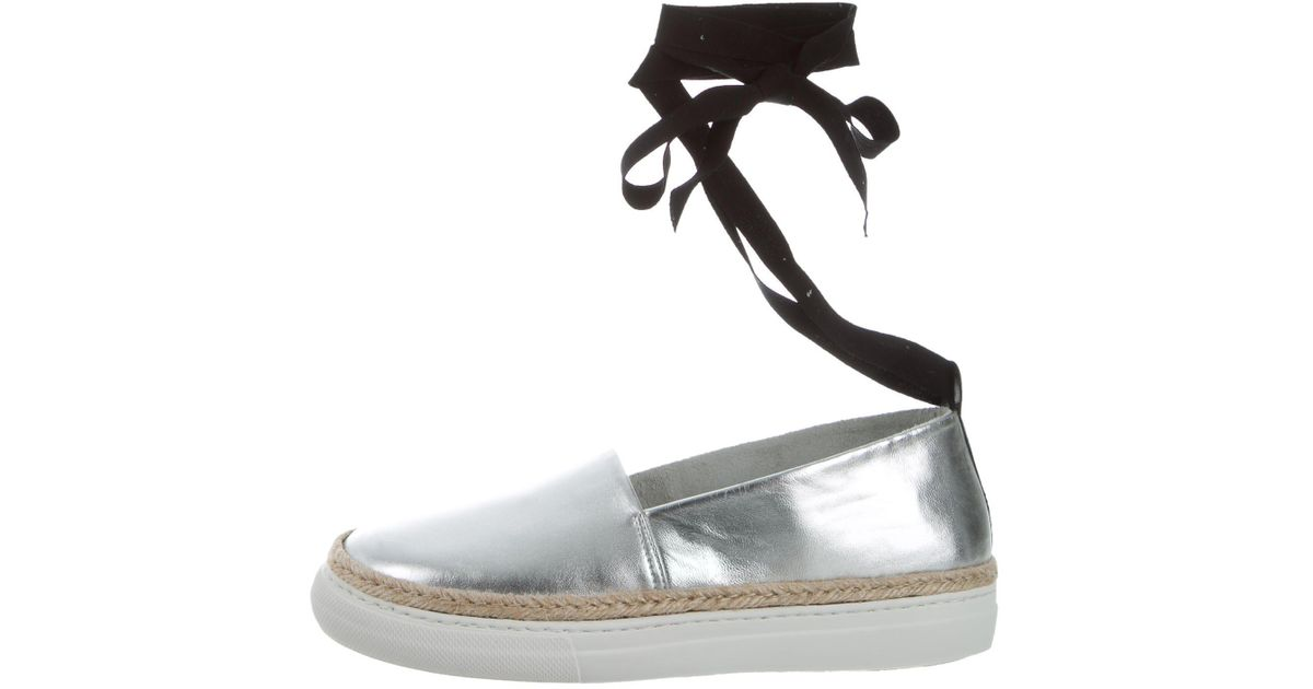 sale sale online Pierre Hardy Metallic Wrap-Around Espadrilles buy cheap footlocker pictures free shipping low shipping discount marketable NJ7M6eh