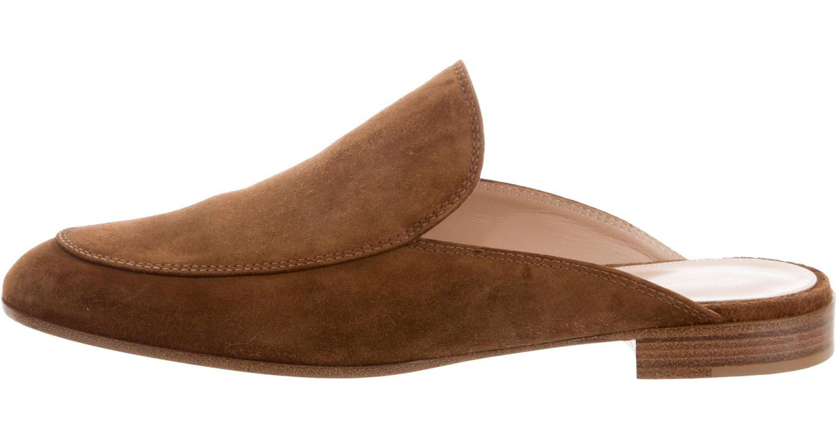 brand new unisex cheap price clearance visit new Gianvito Rossi 2017 Palau Mules w/ Tags outlet footaction factory outlet sale online classic r7xa2t