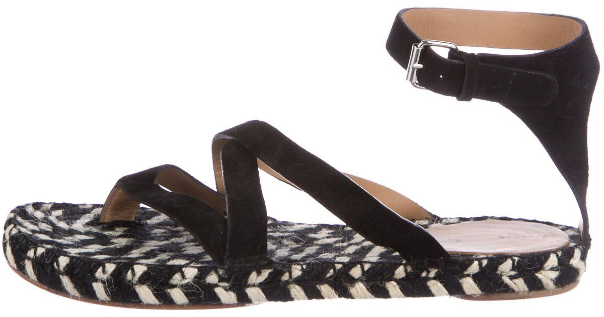 find great cheap price cost cheap online Proenza Schouler Multistrap Suede Sandals with mastercard for sale fZeiIX0Ntg