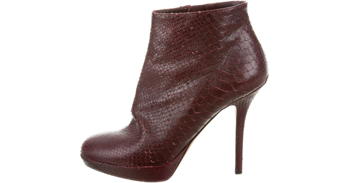 Dior Python Boots Cheap Sale Shop For Sale Amazon Cheap Excellent VLq4QiJf