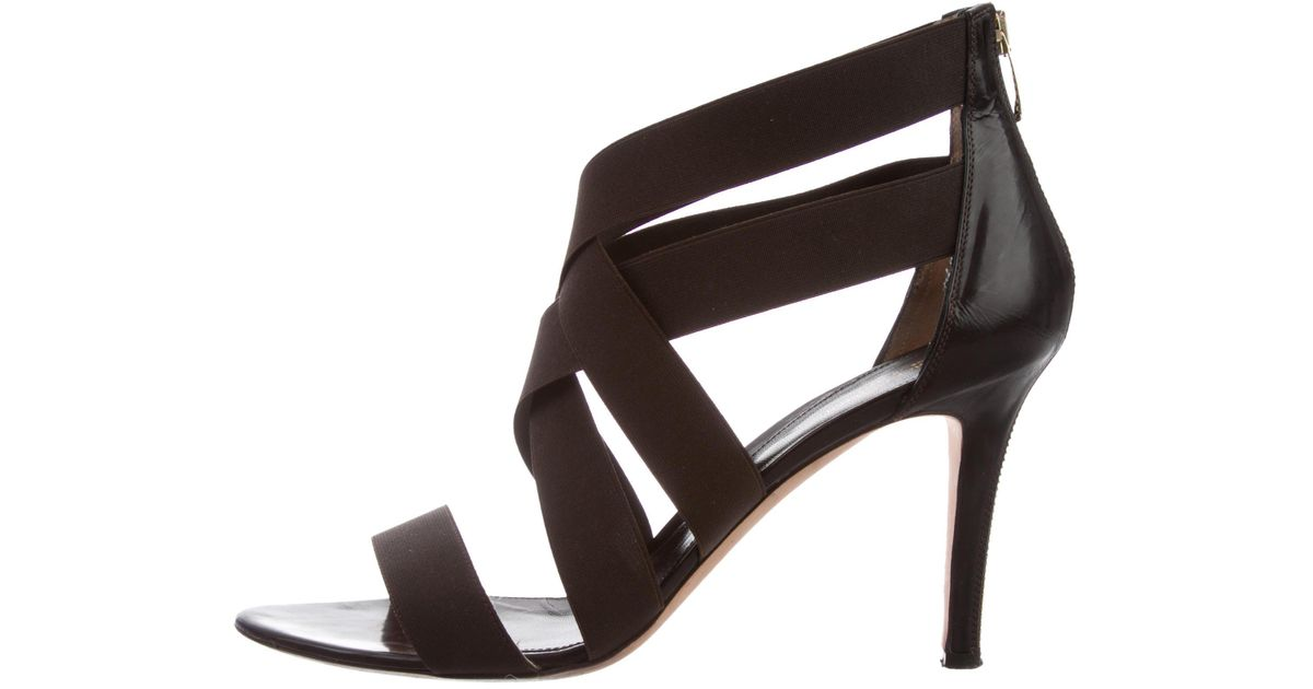cheap release dates Sergio Rossi Multistrap Elasticized Sandals buy cheap ebay clearance official site clearance store online PkiNgc
