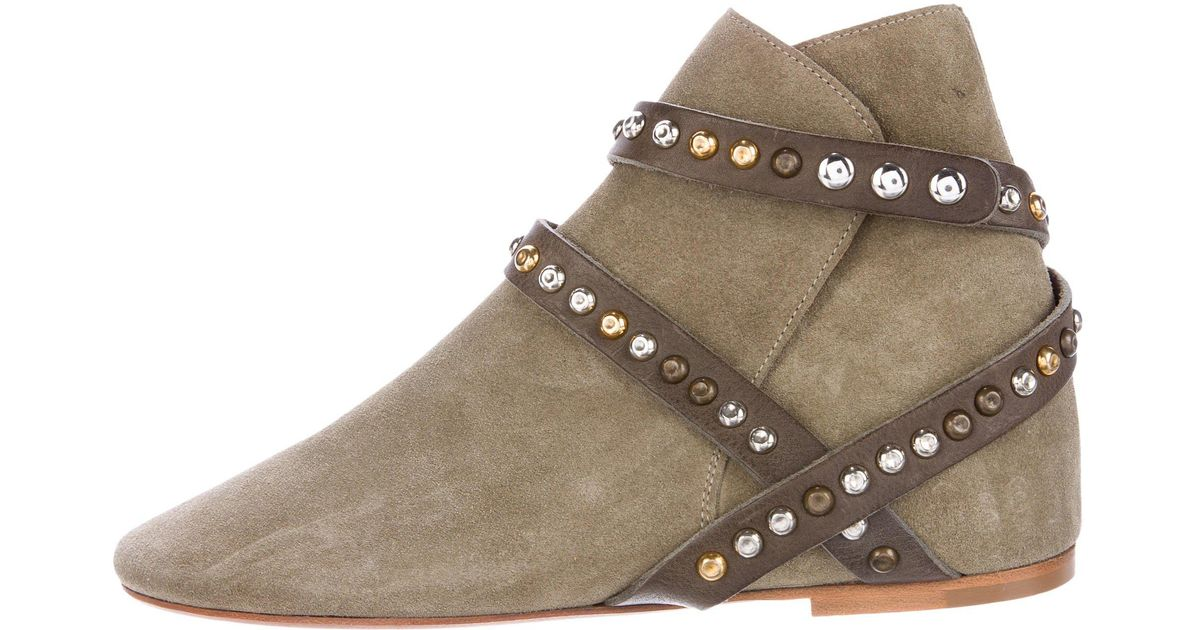 Étoile Isabel Marant Hey Jude Embellished Booties discount brand new unisex largest supplier ZHxEQ