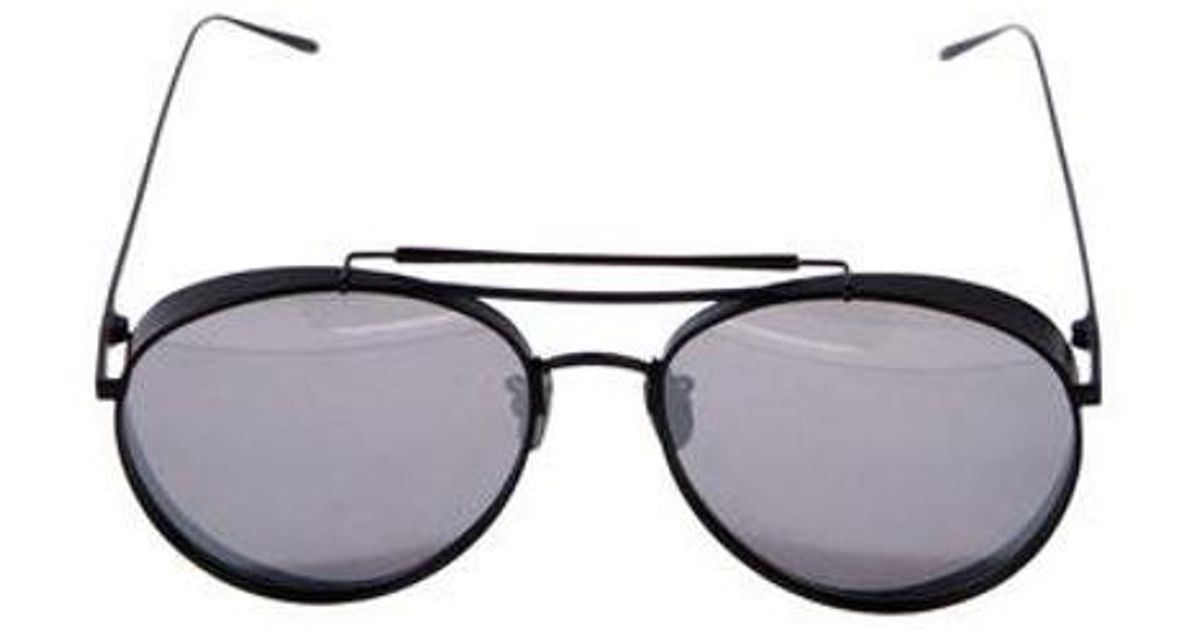 ca473cab0f Lyst - Gentle Monster Big Bully Mirrored Sunglasses in Black