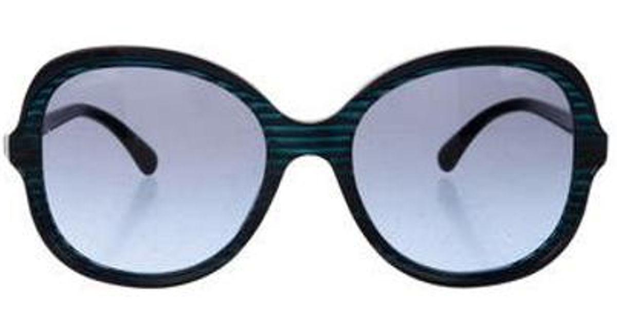 0751f6cd14f8 Lyst Chanel Square Cc Sunglasses In Blue