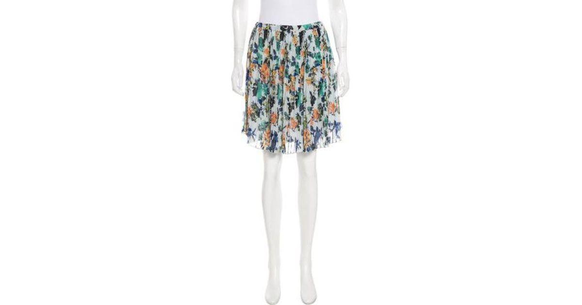 c622185fdd Lyst - Sachin & Babi Floral Print Mini Skirt in Blue