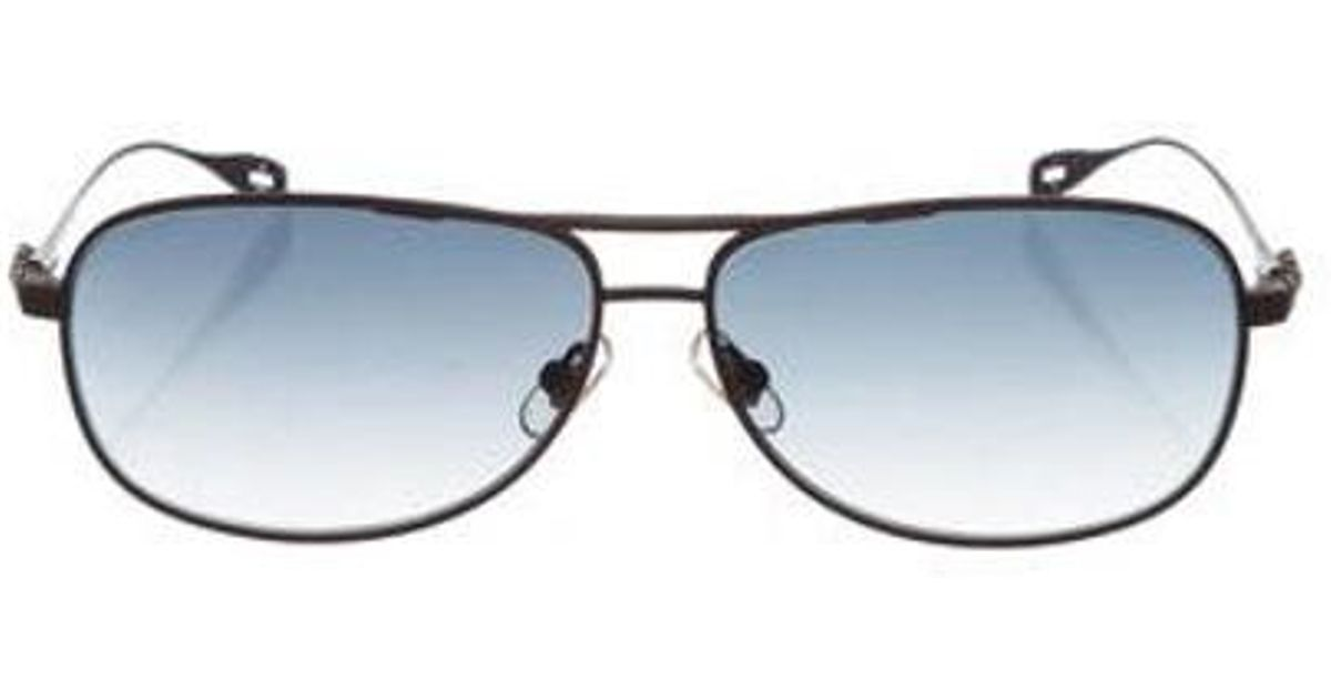 3fffa5657705 Lyst - Chrome Hearts Stains Ii Sunglasses Brown in Metallic for Men