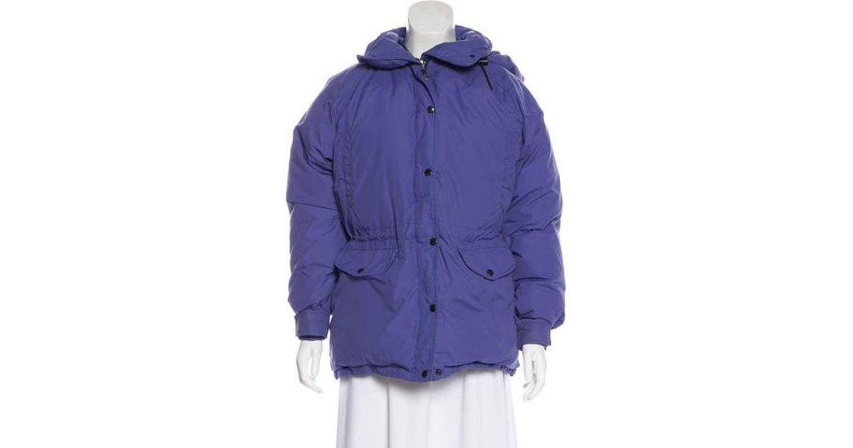 ... netherlands lyst the north face zip up puffer jacket in purple 49e81  71da5 d0b8cb2dc