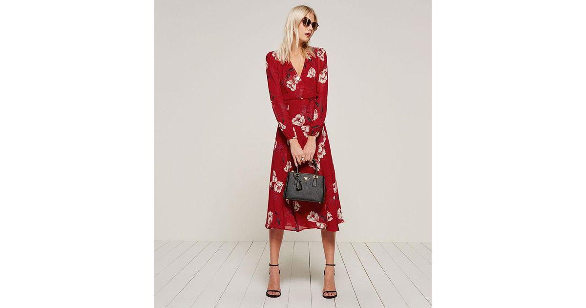 690dec2b533 Reformation Chelsea Dress - Lyst