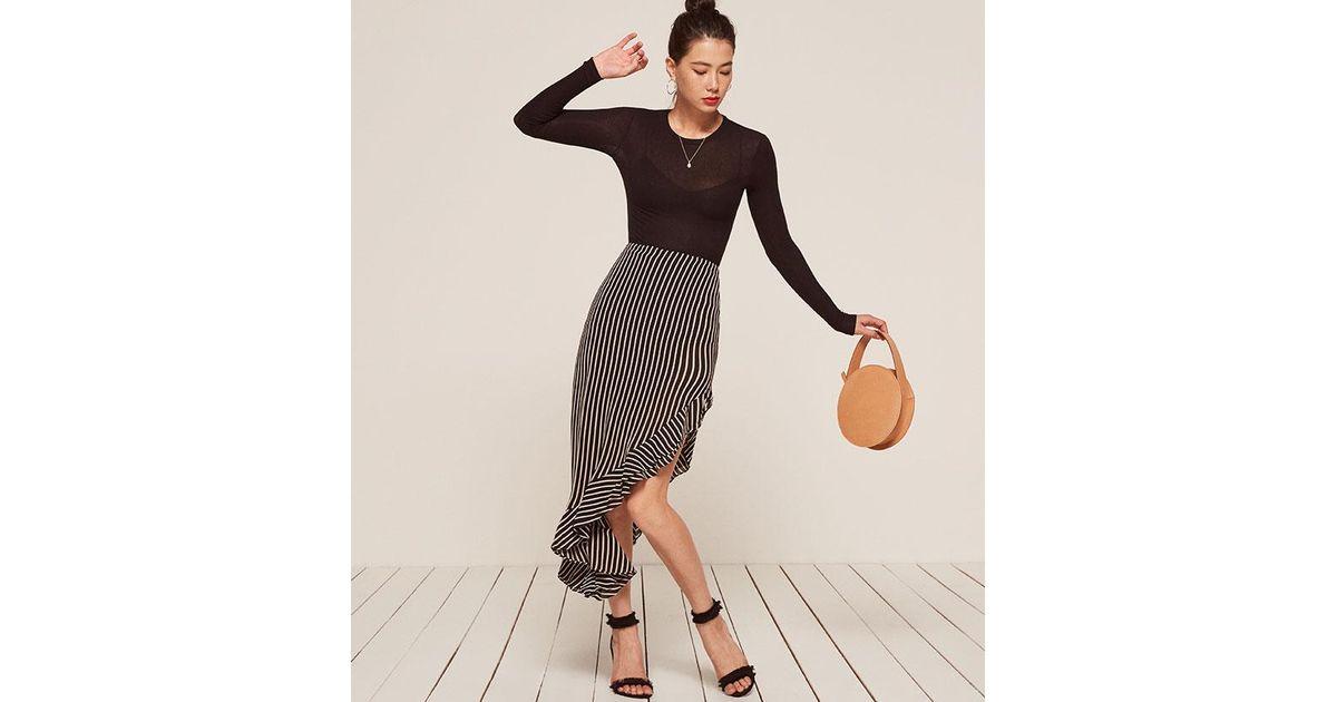 21e06999e Reformation Adorn Skirt - Lyst