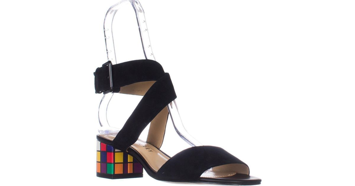 963e6b196 Lyst - Katy Perry The Margot Heeled Sandal in Black - Save 53%