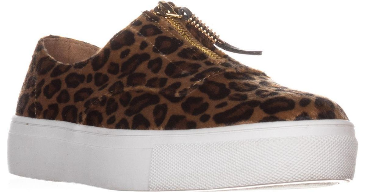 13c9e6d61954 Lyst - Madden Girl Kudos Zip Fashion Sneakers in Brown
