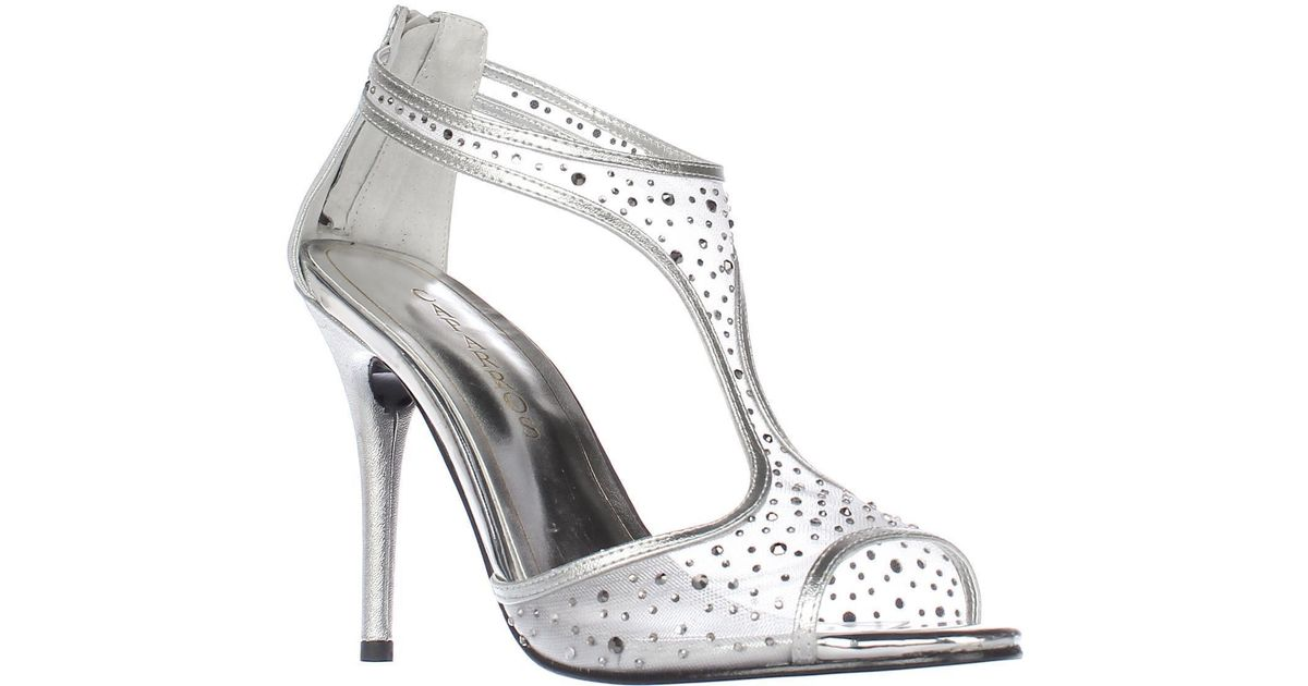 e2724cf4c Caparros Hope T-strap Sandals in Metallic - Save 8% - Lyst