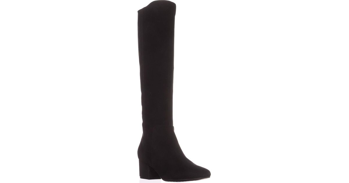ef979b67c46 Lyst - Bandolino Florie Wide Calf Knee-high Fashion Boots in Black - Save  13%