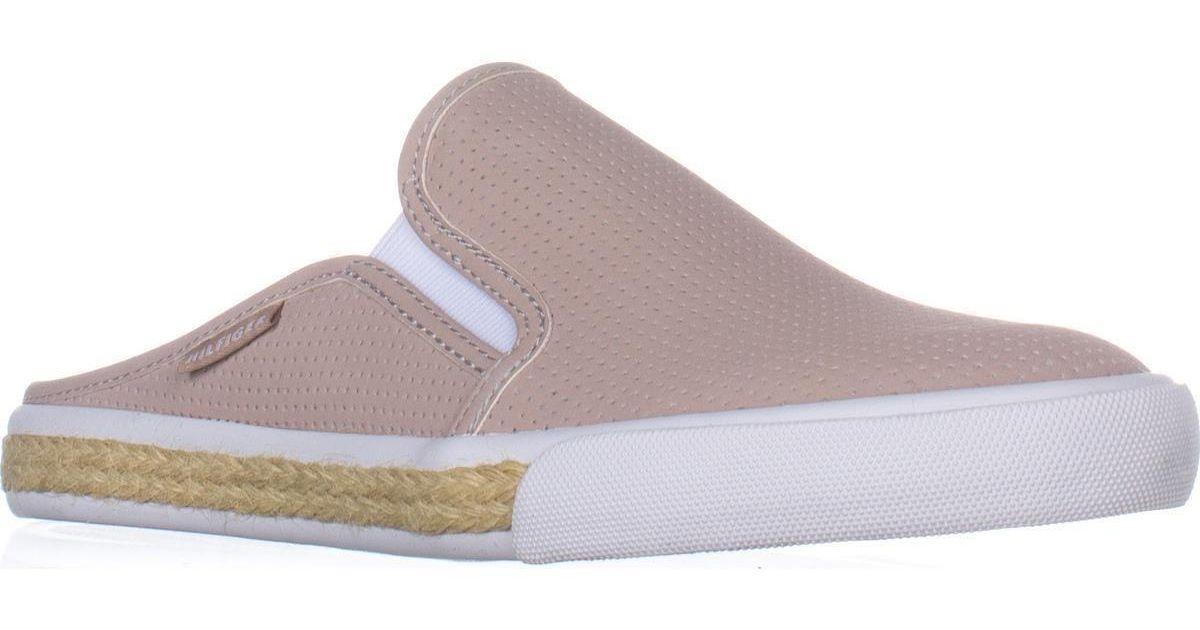 0b3df323f95b3 Lyst - Tommy Hilfiger Frank3 Slip-on Fashion Sneaker in Pink