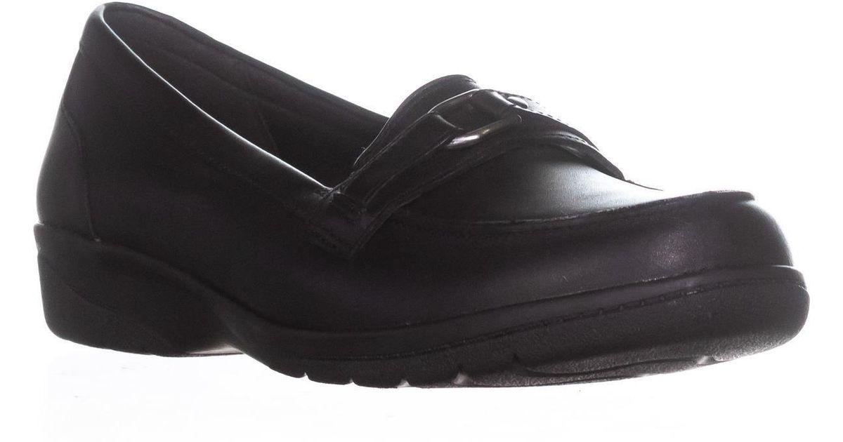 74954af4536 Clarks Cheyn Marie Buckle Slip-on Loafers in Black for Men - Lyst