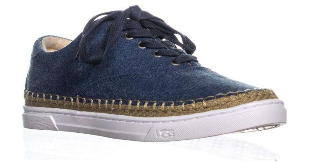 c8be7eb33f6 Ugg Blue Eyan Ii Lace Up Espadrilles Sneakers