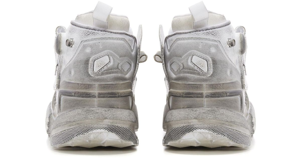 8f472f5c55af Lyst - Vetements X Reebok Genetically Modified Pump Sneakers in White for  Men