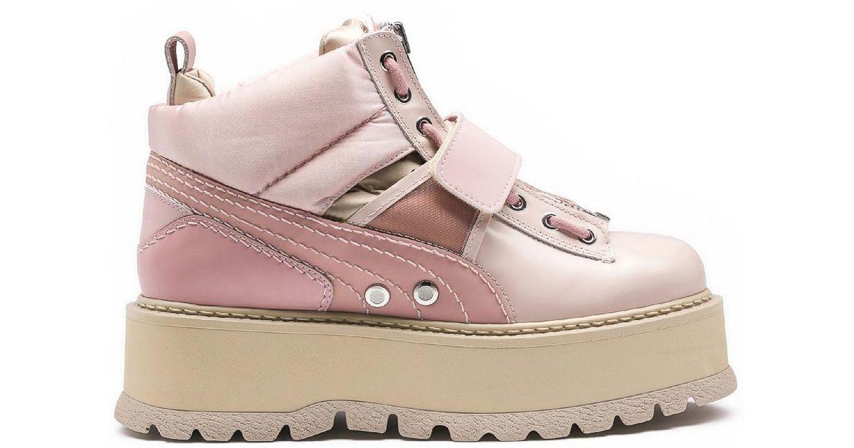 low priced 65682 89e80 PUMA Multicolor Fenty X By Rihanna Sneaker Boots