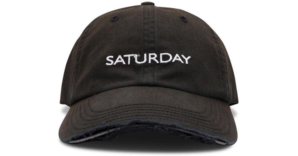 Vetements Weekday Cap in Brown for Men - Lyst 2ed48cdb3398